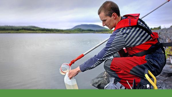 Water Testing Green