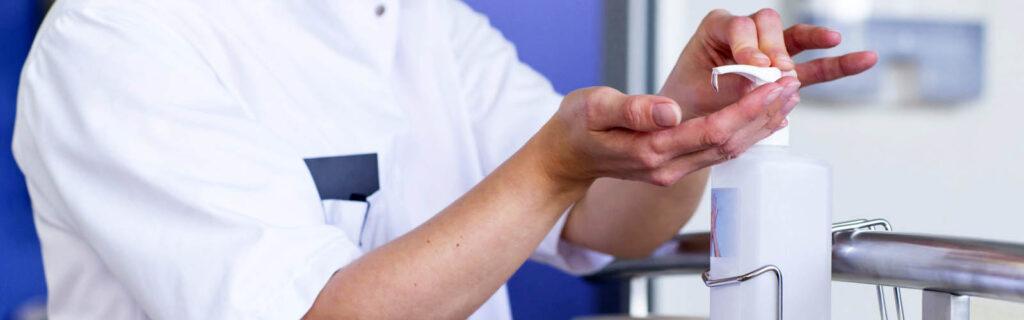 Workplace hand sanitiser